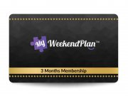 My Weekend Plan Membership
